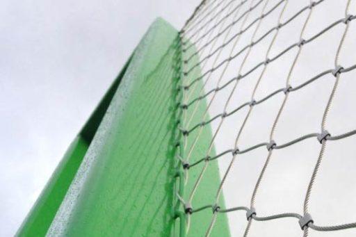 Ballenvanger detail rijgkabel
