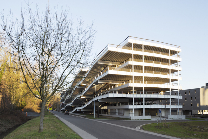 Parkeergebouw Leuven IMEC KU - Carl Stahl - 34