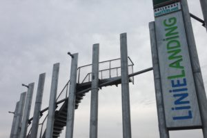 Linielanding Houten uitkijktoren met RVS kabelnetten - Carl Stahl Benelux