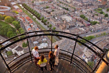 Uitkijktoren Den Haag - De Haagse Toren met RVS kabelnetten - Carl Stahl Benelux