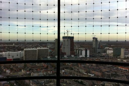 Uitkijkpunt Strijkijzer met RVS kabelnetten - Carl Stahl Architectuur Benelux