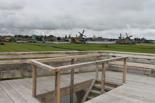 Uitkijktoren Zaanse Schans - X-TEND - RVS kabelnetten - Carl Stahl Benelux